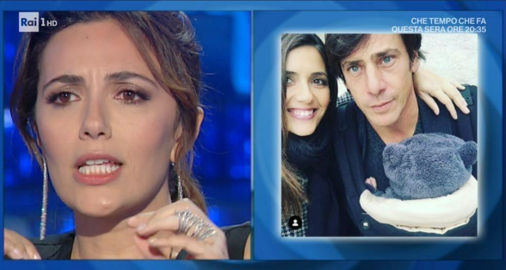 Domenica In, Serena Rossi riceve la proposta di matrimonio dal fidanzato Davide Devenuto