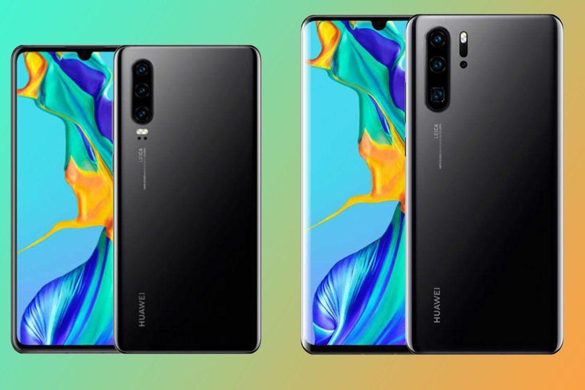 Confronto Huawei P30 e P30 Pro