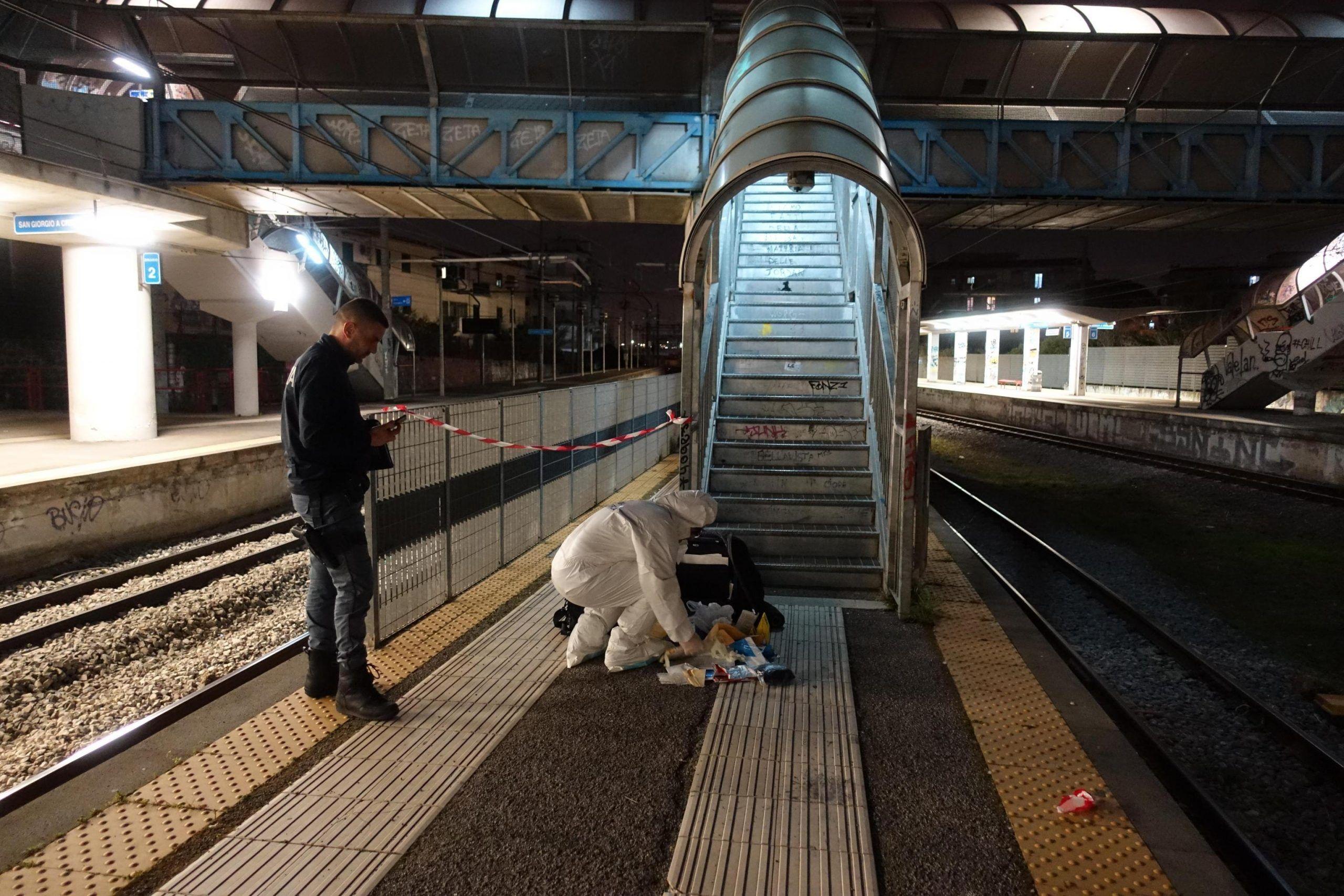 Violentata in stazione