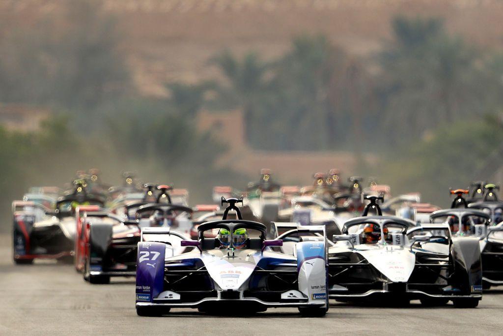a Formula E in Arabia Saudita