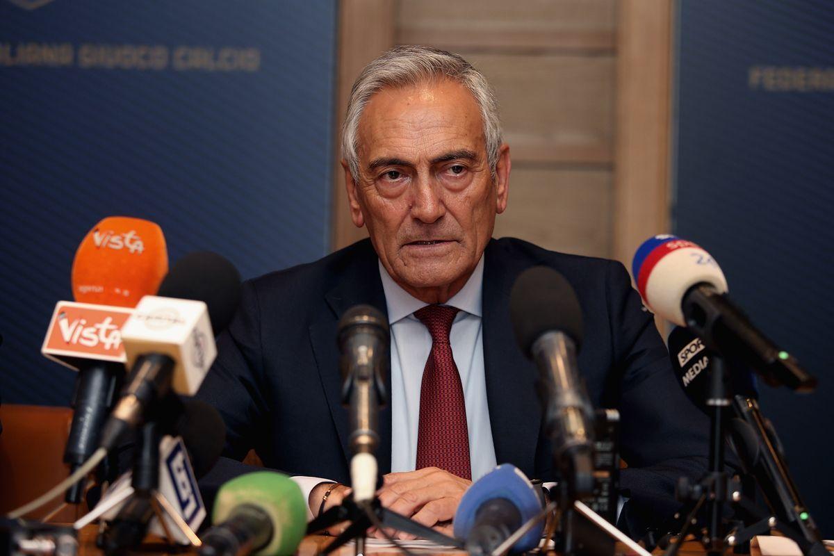FIGC presidente Gravina