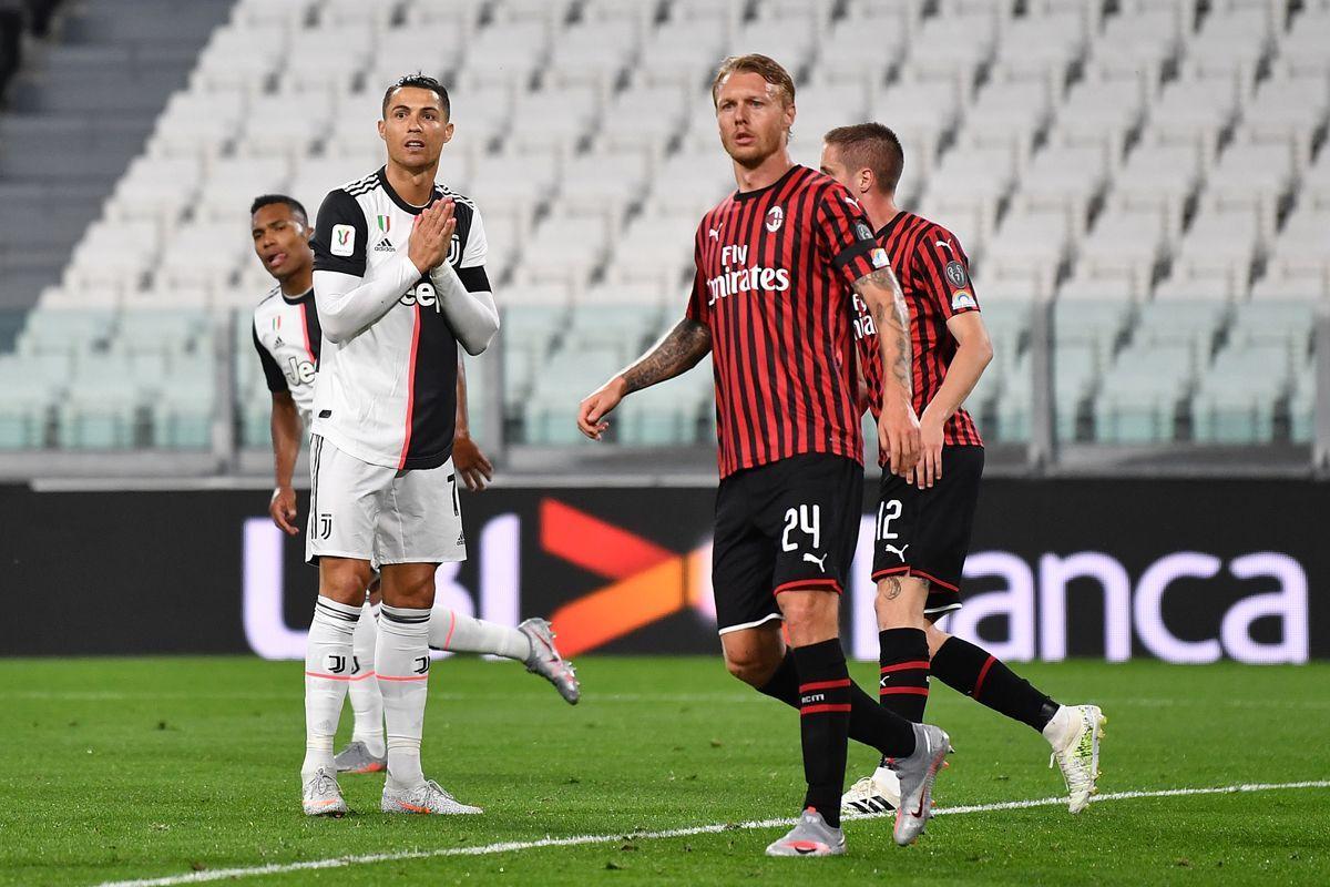 Il Milan resiste anche in 10, ma in finale di Coppa Italia va la Juventus