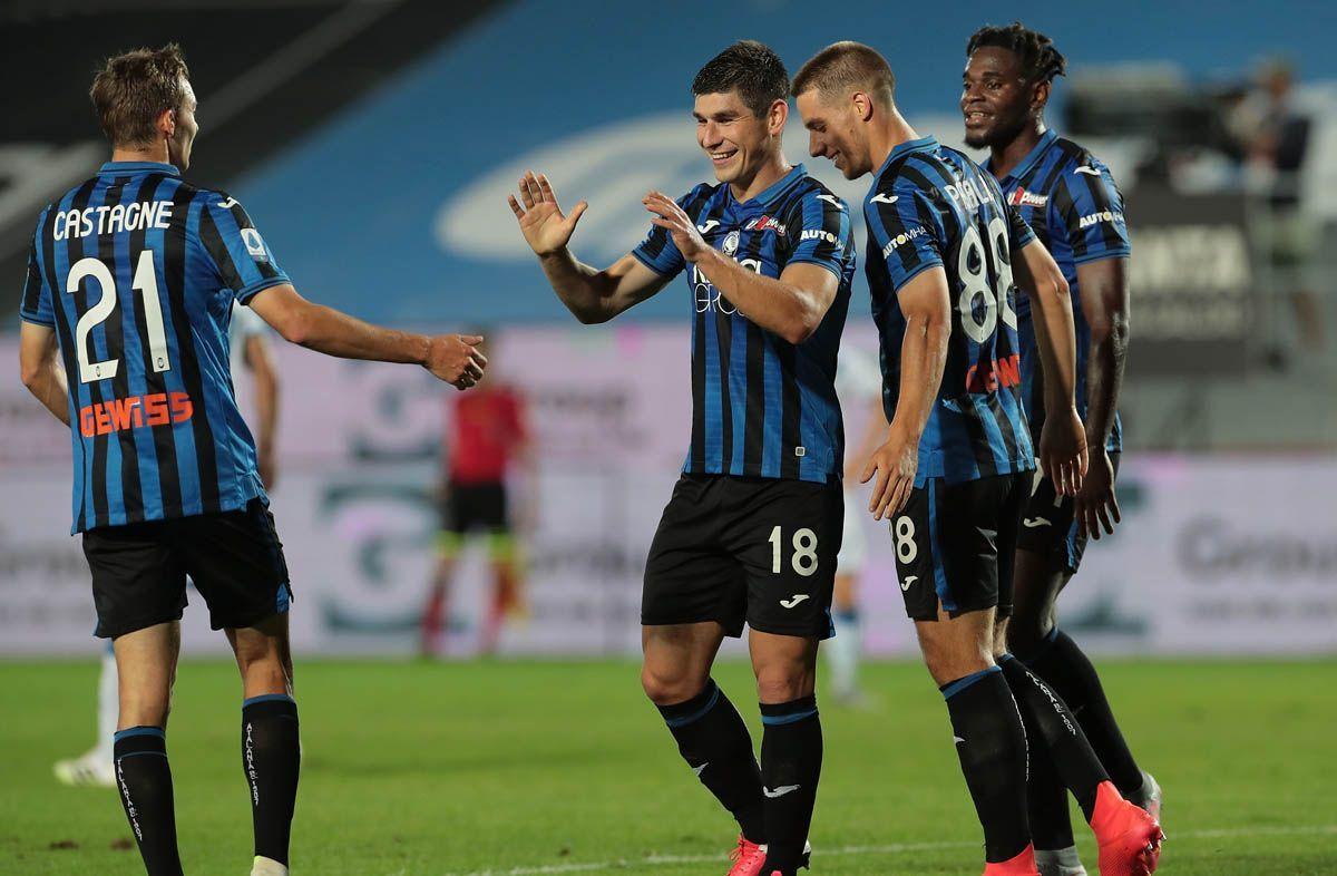 Serie A: l'Atalanta strapazza il Brescia e vola al 2° posto