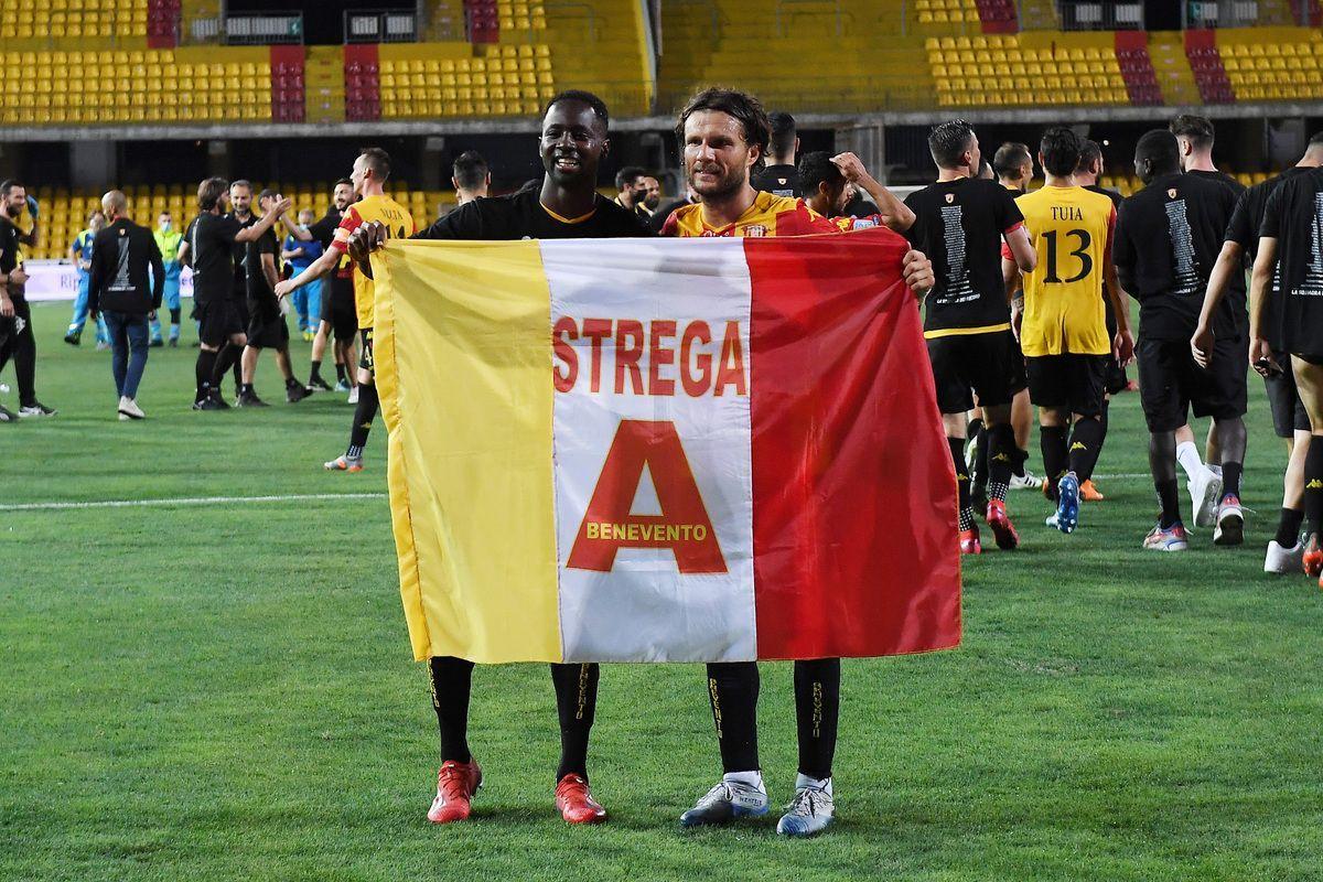 Il Benevento torna in Serie A,  la cavalcata da record della squadra di Inzaghi