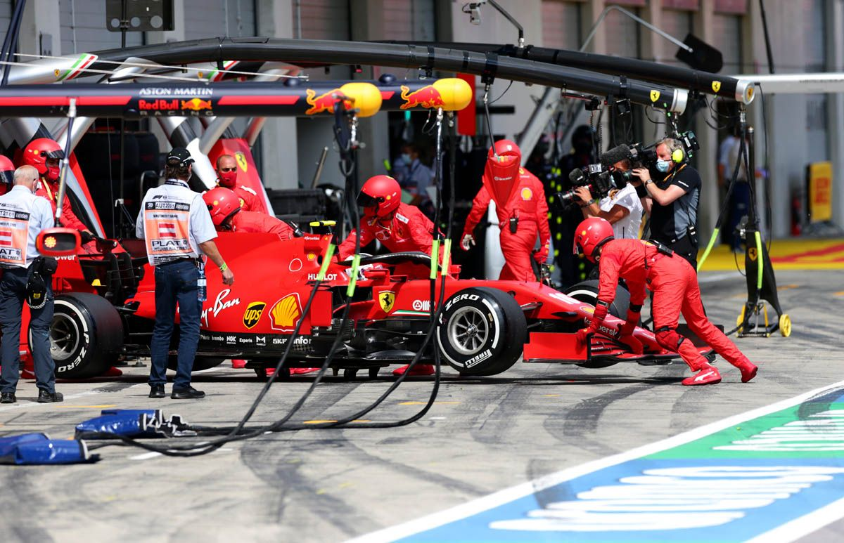 Leclerc si ritira al GP di Stiria