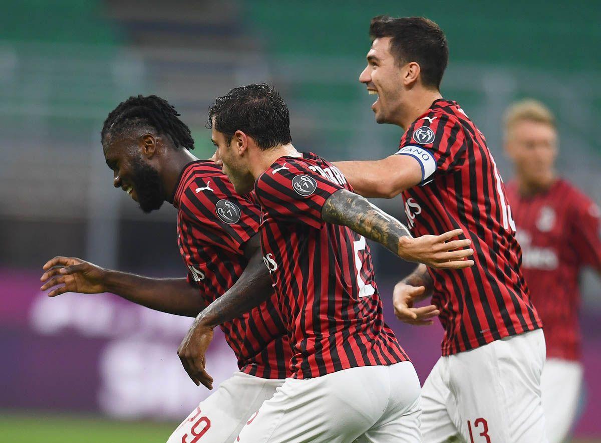 Milan a valanga sul Bologna. Atalanta fermata dal Verona