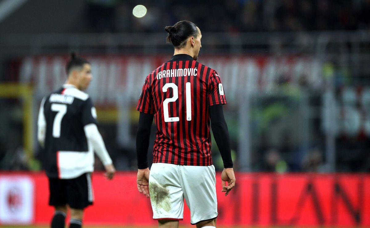 Ibrahimovic contro Cristiano Ronaldo, quando Milan-Juventus è anche la sfida tra fuoriclasse