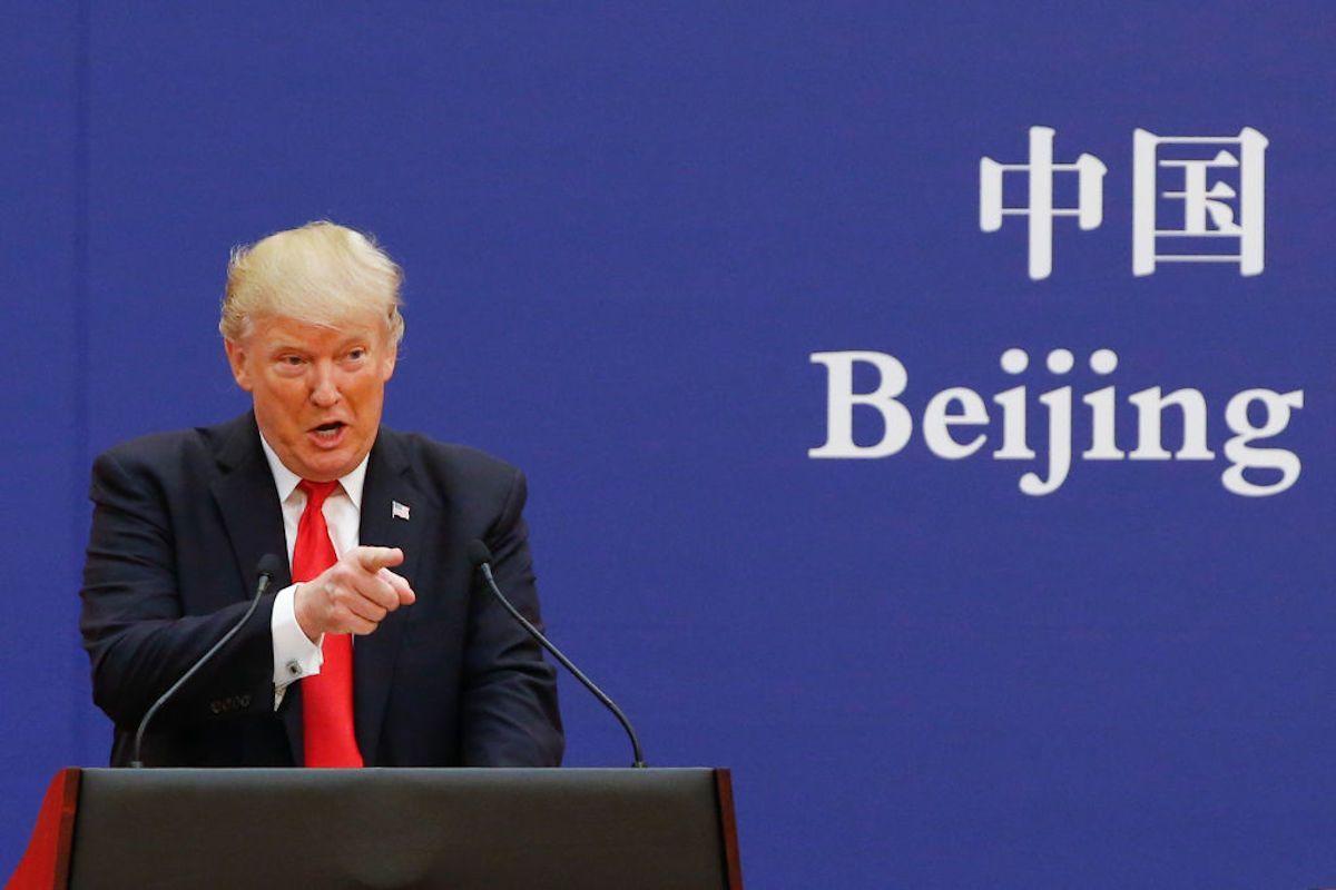 Trump, Usa-Cina guerra fredda
