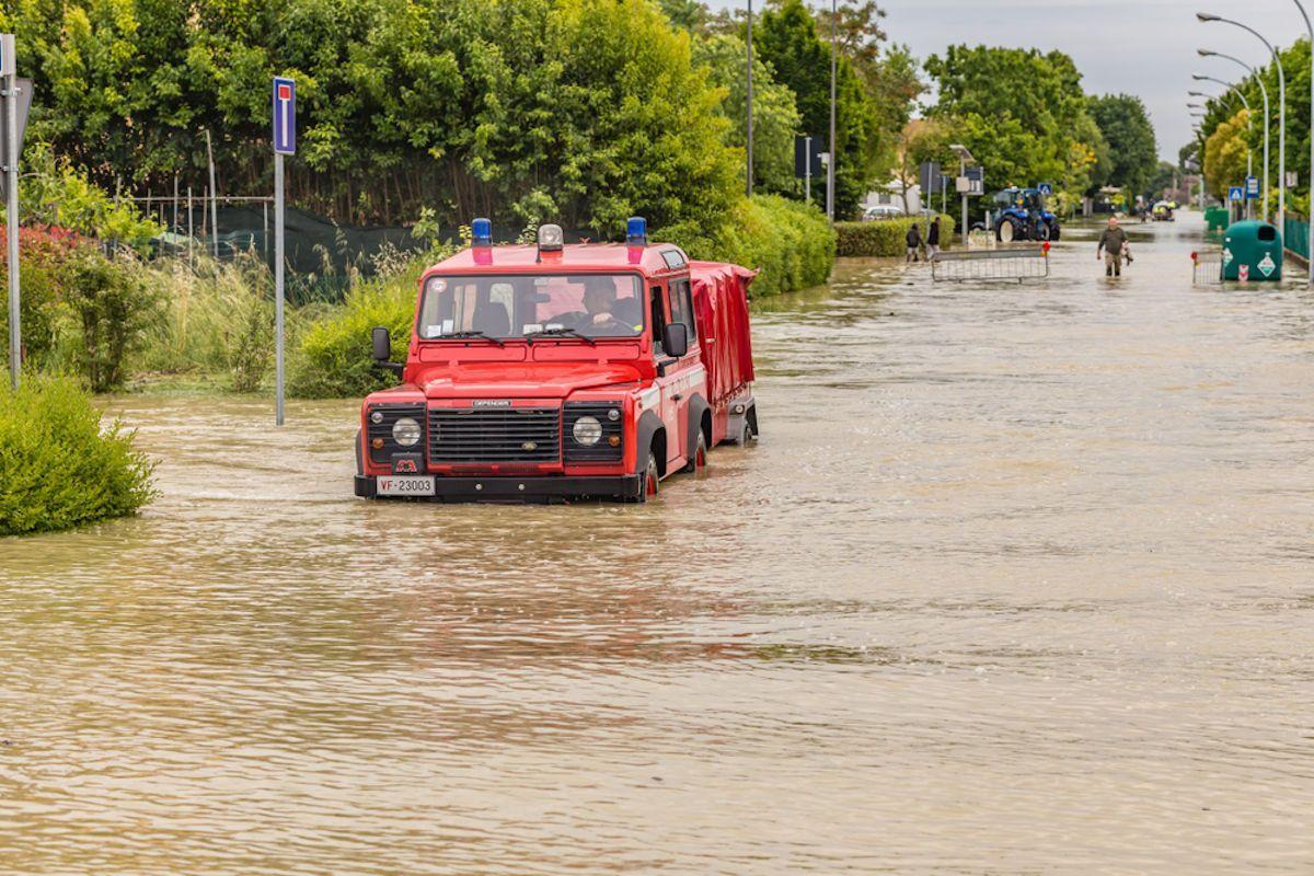 Vigili del fuoco alluvione