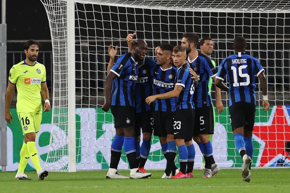 Europa League, l'Inter batte il Getafe e vola ai quarti