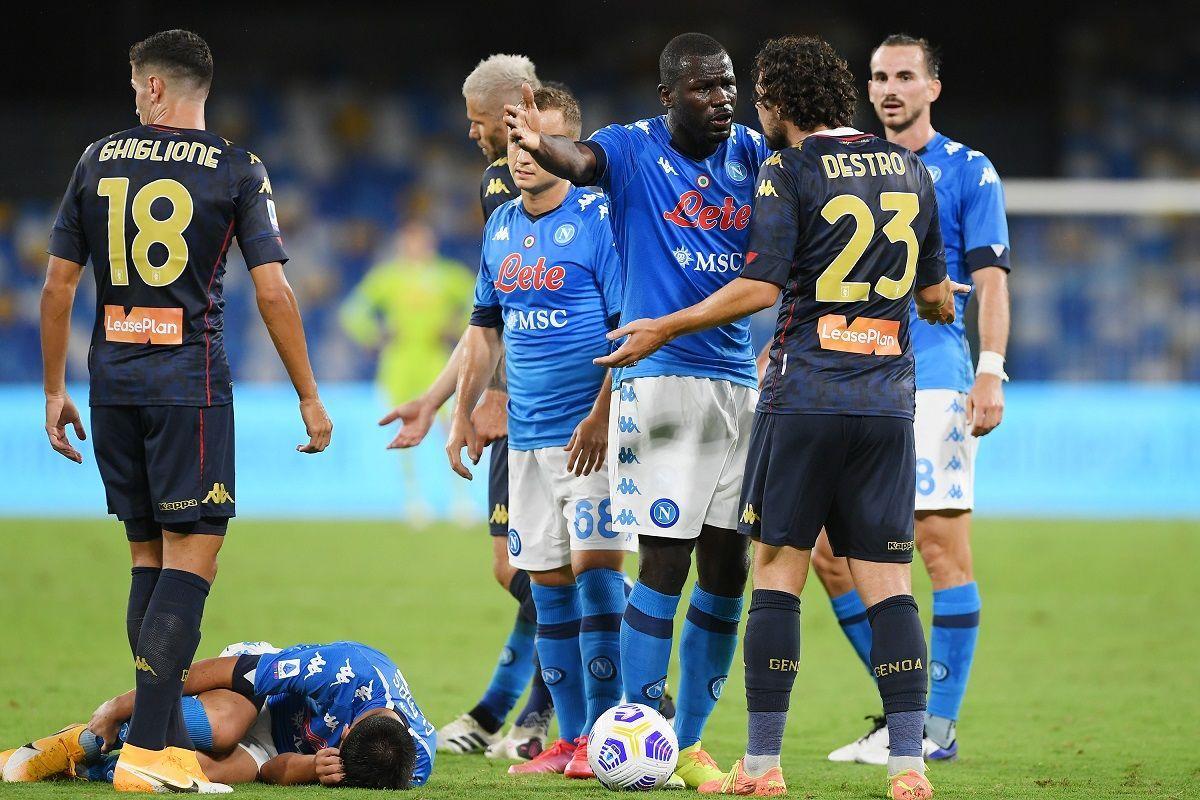Genoa, 14 positivi al Covid: la Serie A rischia lo stop