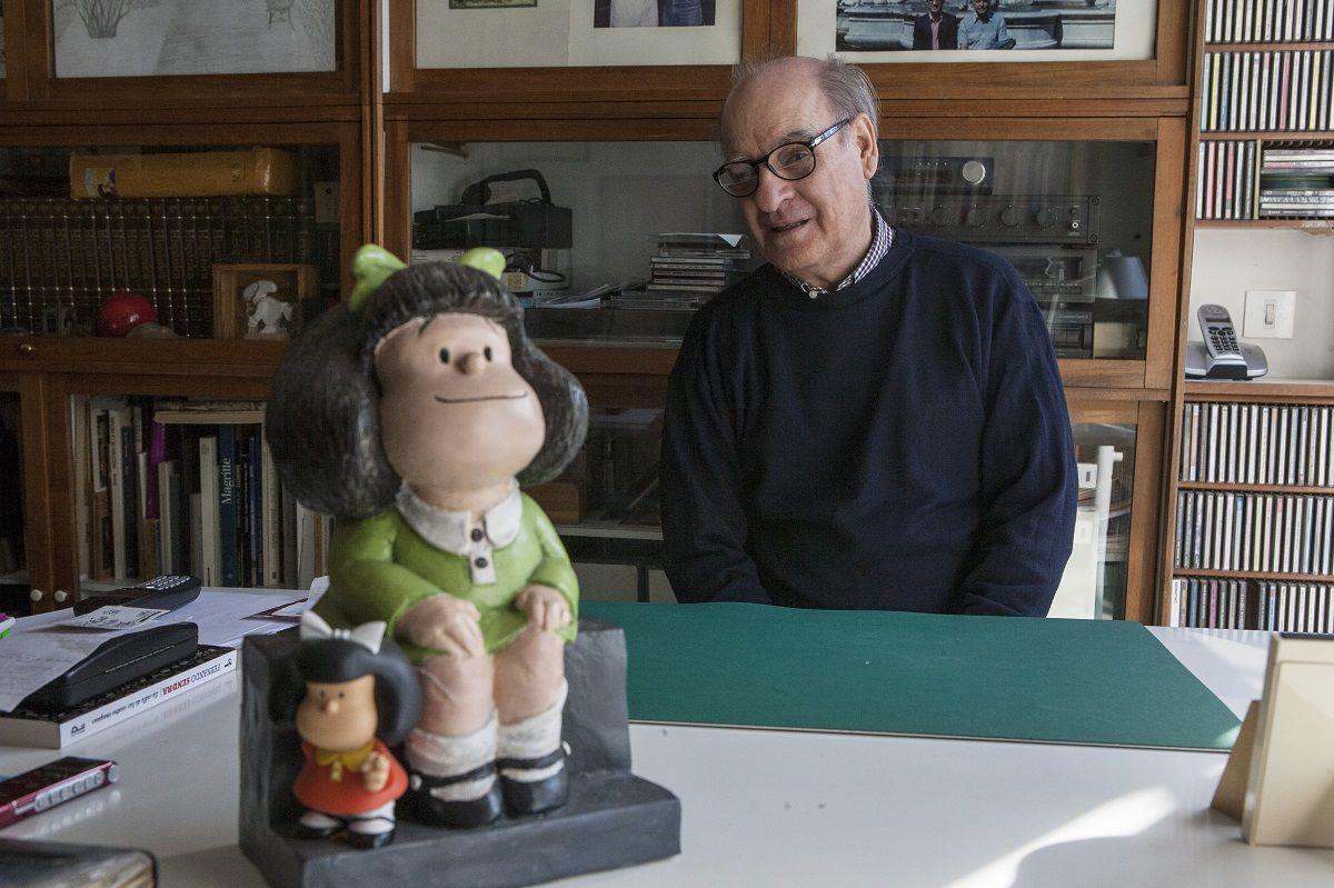 E' morto Quino, il 'papà' di Mafalda. Aveva 88 anni