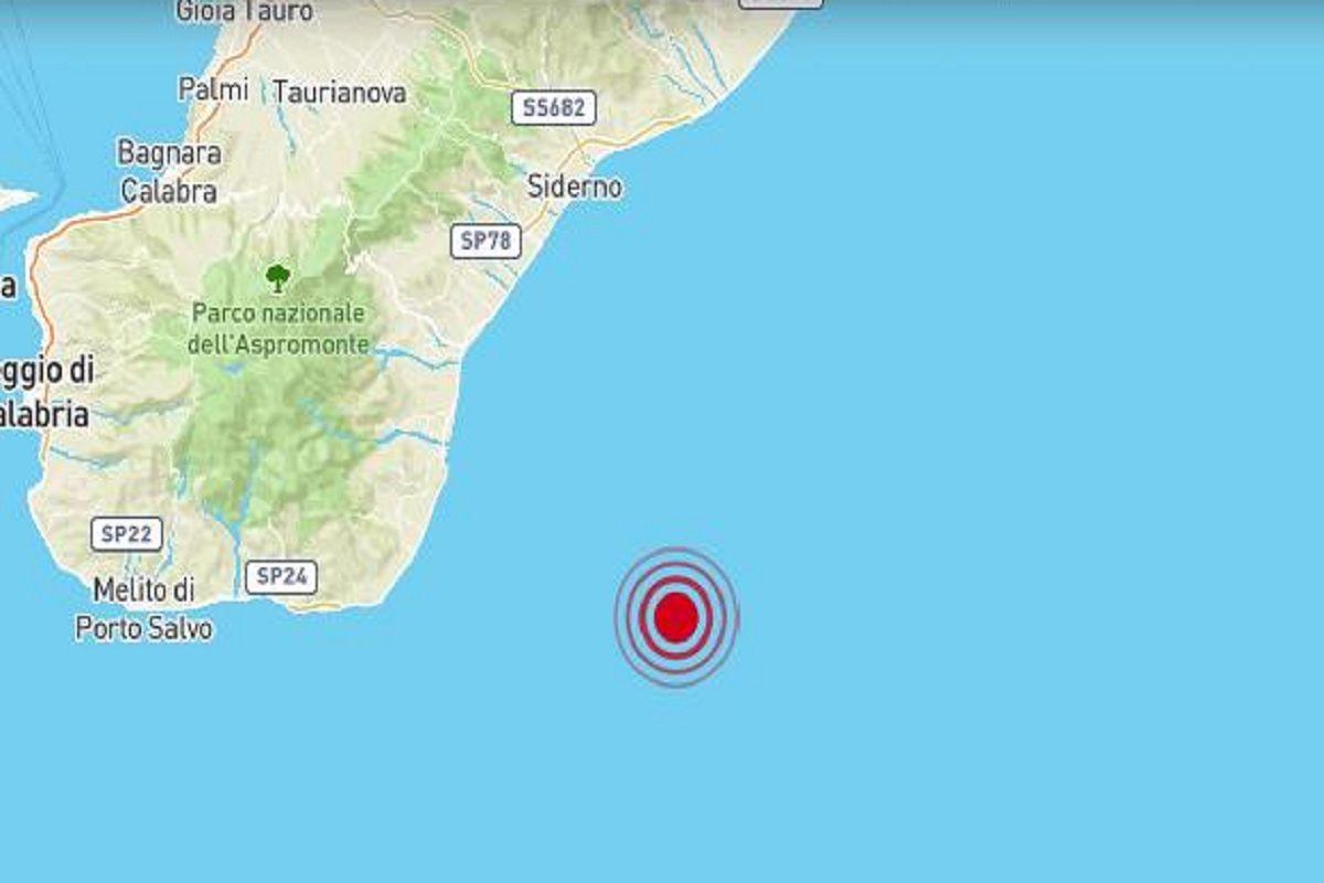 Paura in Calabria: terremoto di magnitudo 3.4 nella notte