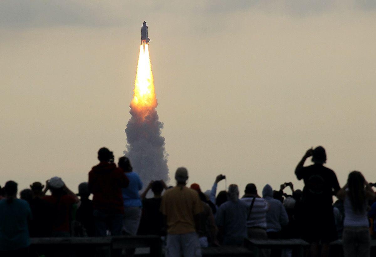 Spazio: astronauti decollati verso Stazione Spaziale Internazionale