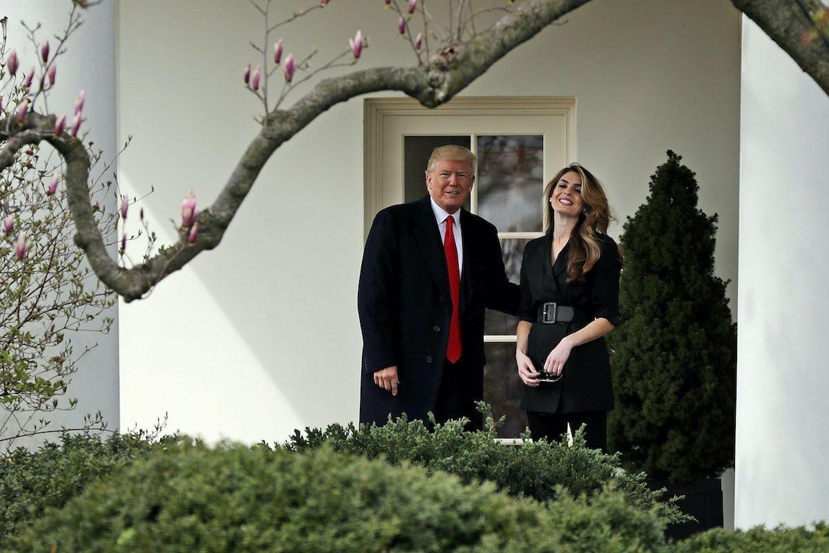 Hope Hicks Donald Trump