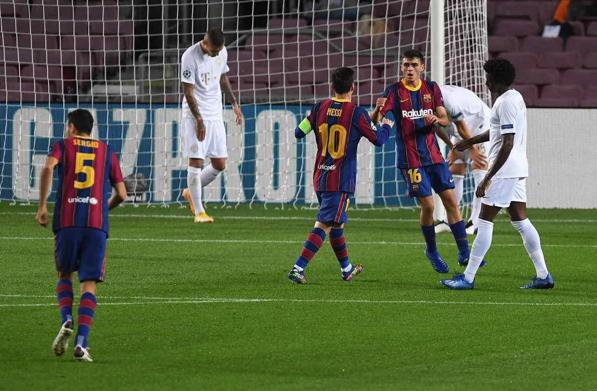 Il Barcellona è pazzo di Pedri, talento di 17 anni