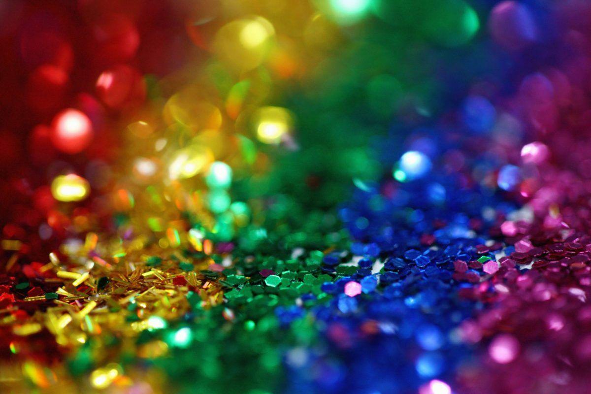 glitter colorati