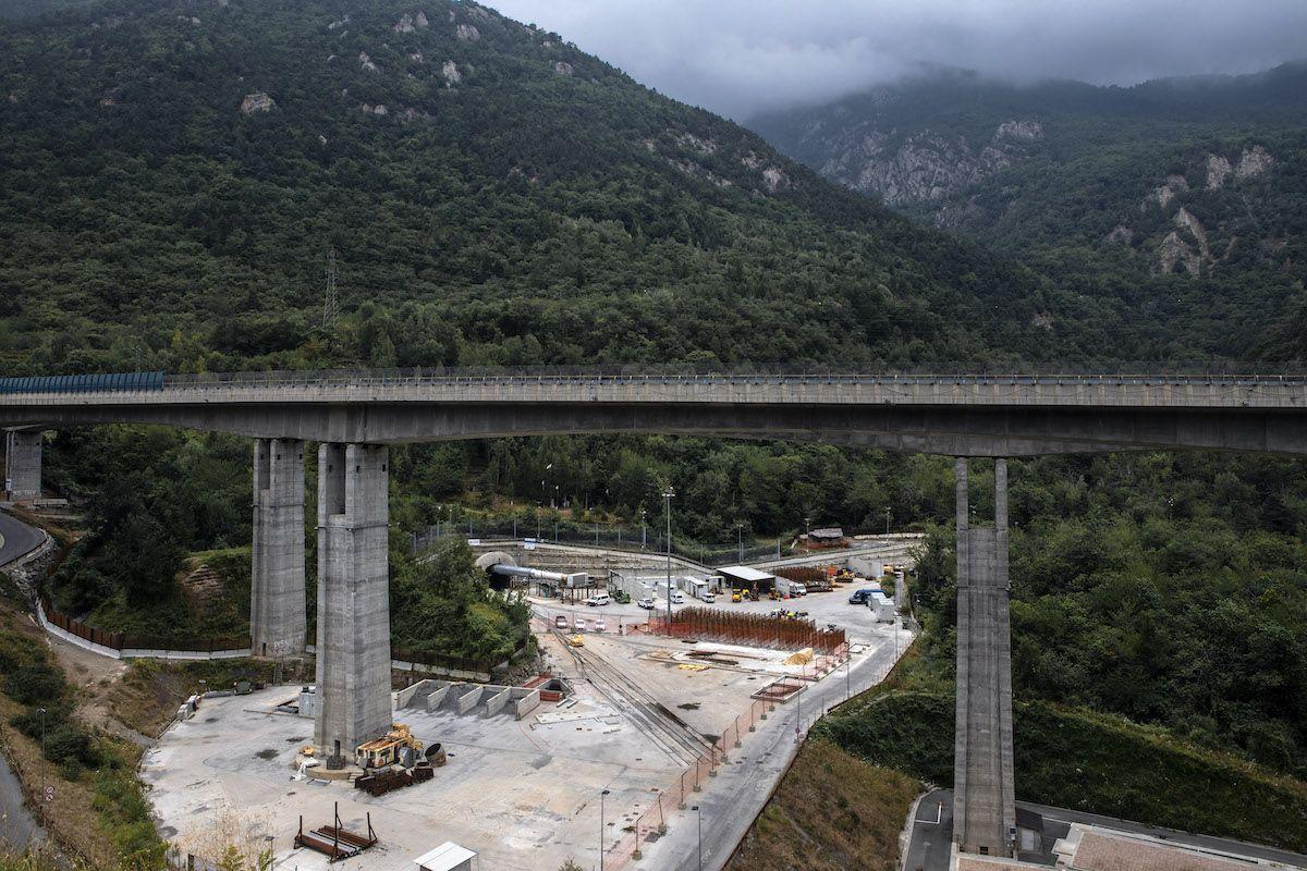 Autostrada cantiere società autostrade italia