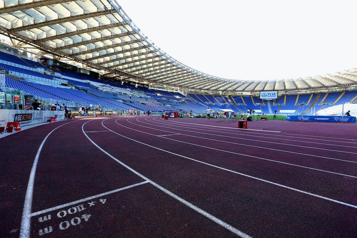 Stadio Olimpico Roma atletica