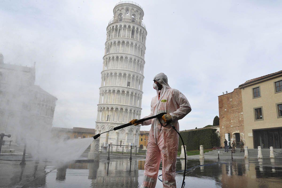 Coronavirus, Italia quarta tra i 10 paesi con più casi in 24 ore