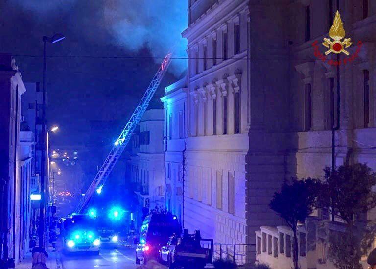 Reggio Calabria: incendio al Tribunale di Piazza Castello