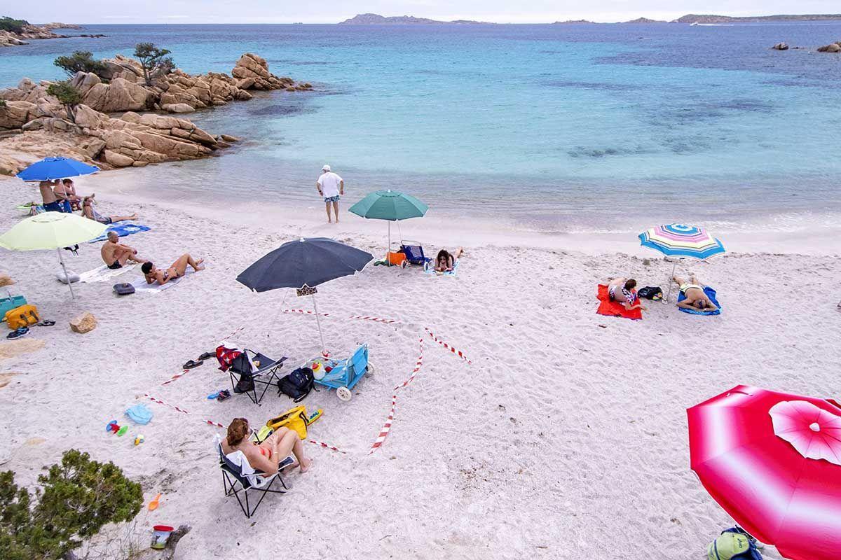 spiaggia estate persone