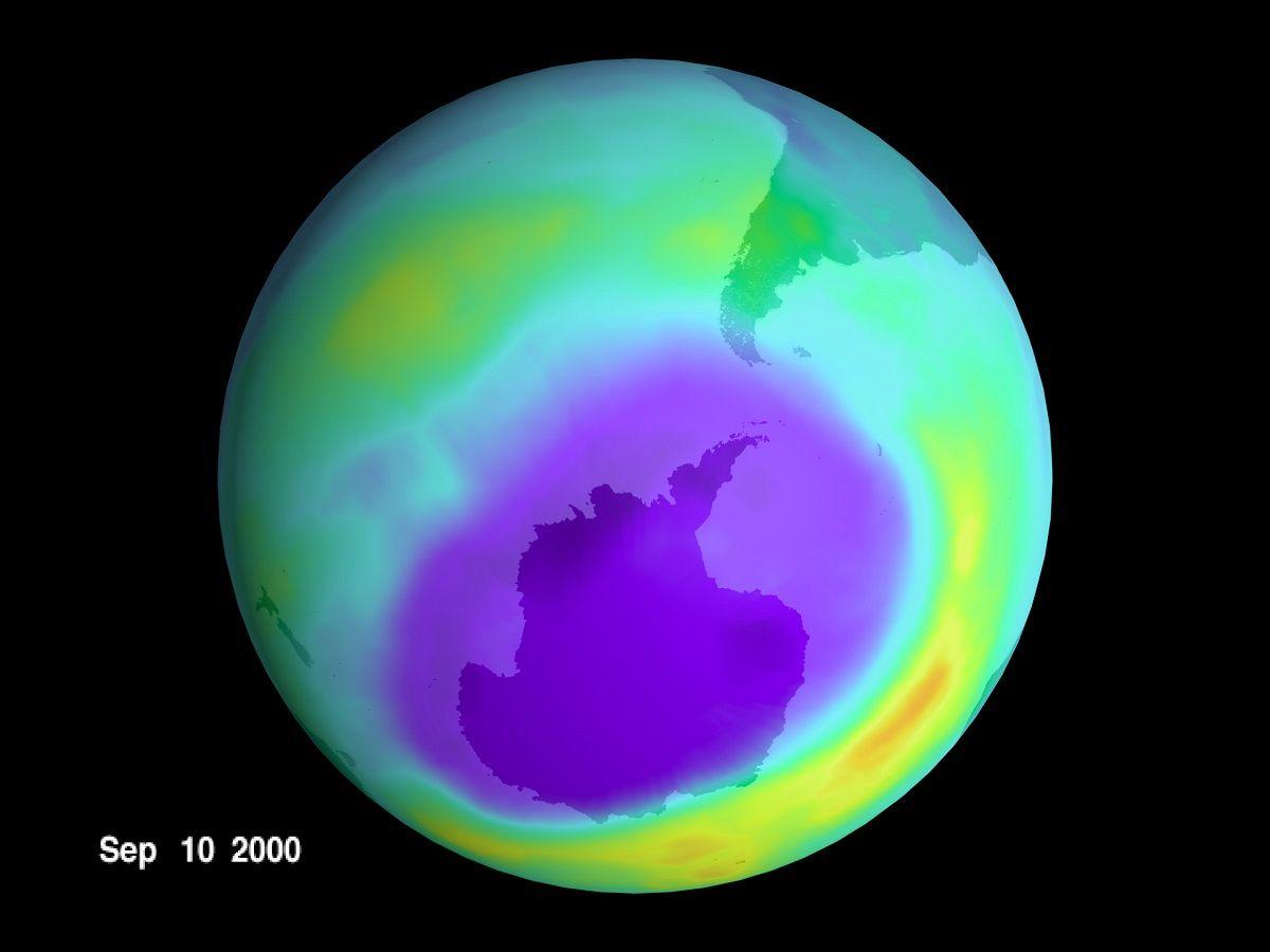 Si è chiuso il buco dell'ozono: record in Antartide
