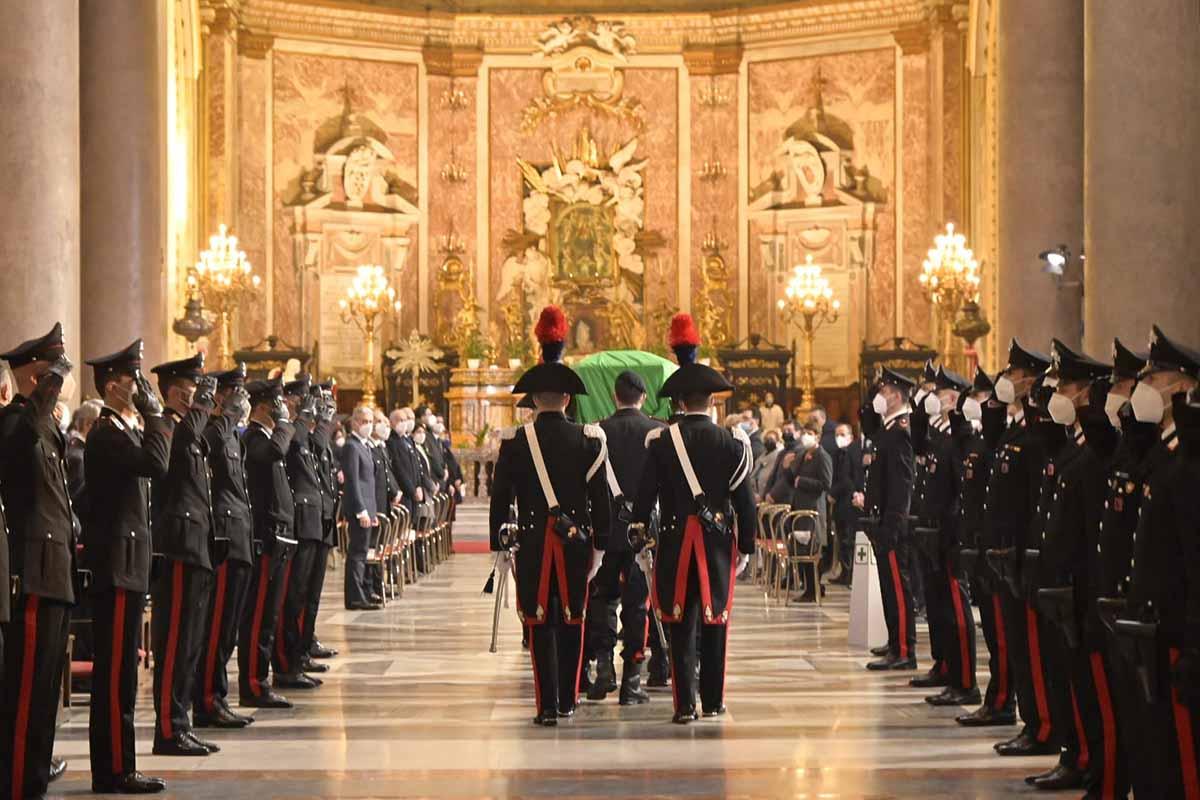 Roma, funerali di Stato per Luca Attanasio e Vittorio Iacovacci