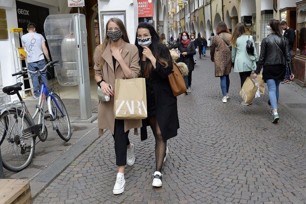 zona gialla shopping
