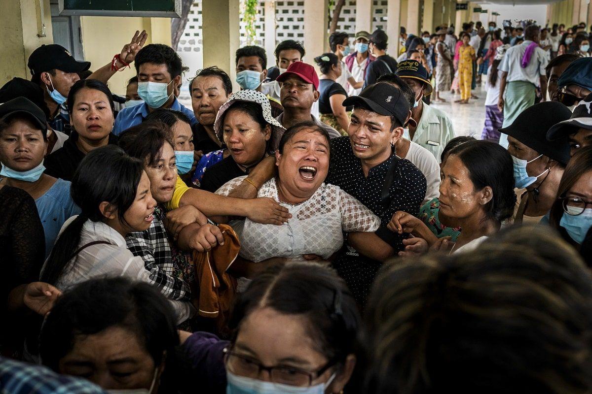 Birmania repressione militare