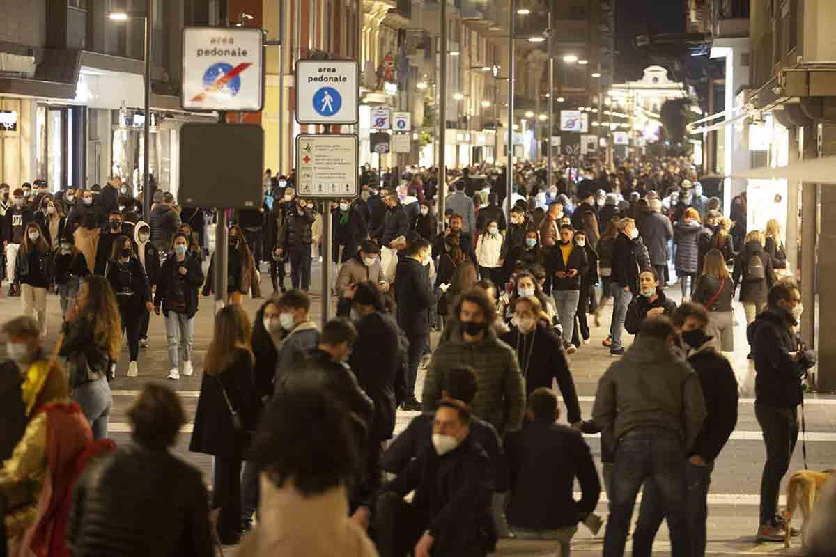 immunità di gregge folla