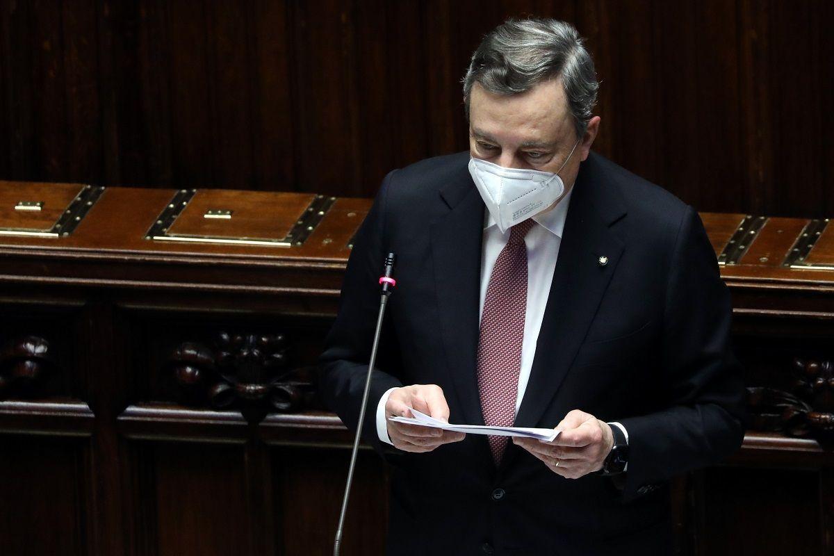 Draghi presenta alla Camera il Recovery Plan: 248 miliardi per ripartire
