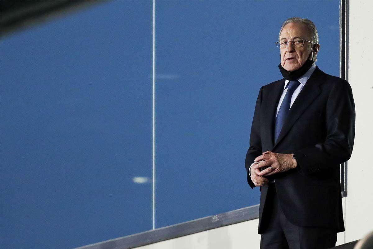 Florentino Perez presidente della Superlega