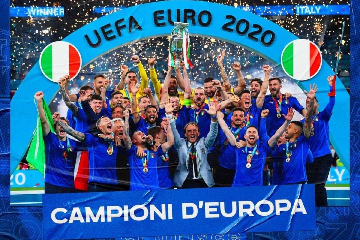 Euro 2020: l'Italia è campione d'Europa