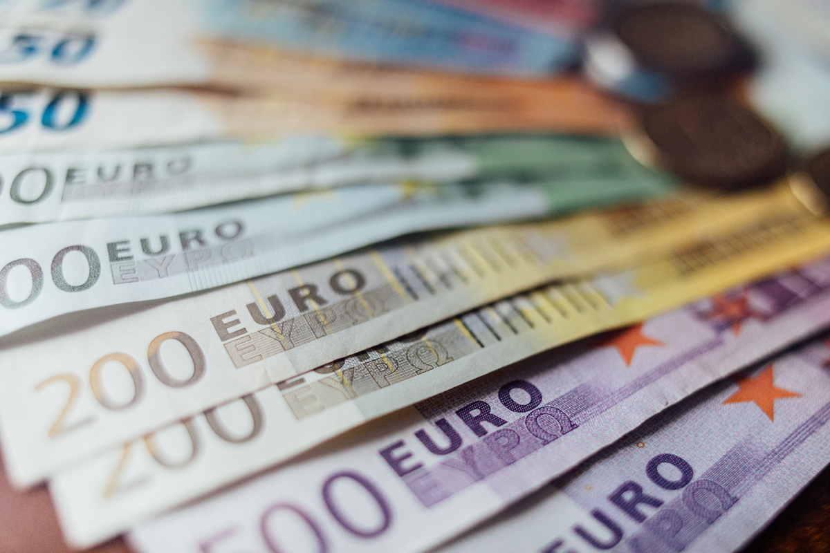 Euro soldi contanti