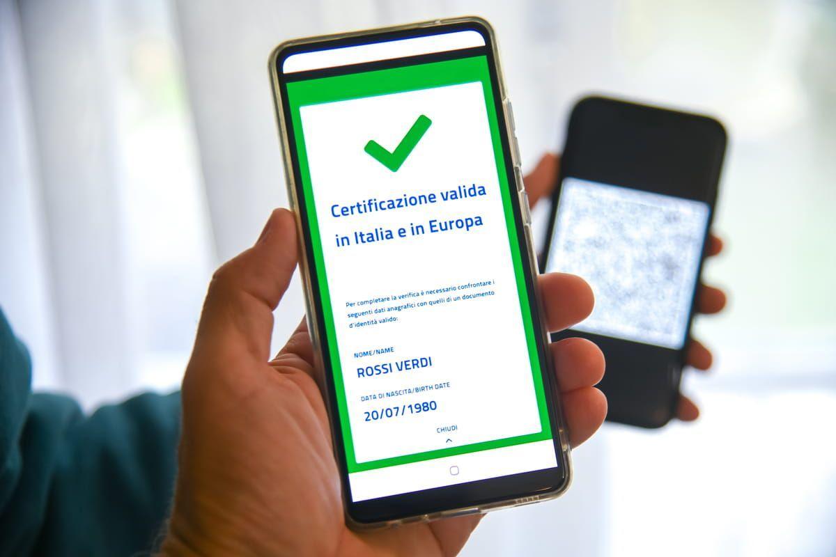 Verifica del Green Pass prima di accedere sul luogo di lavoro