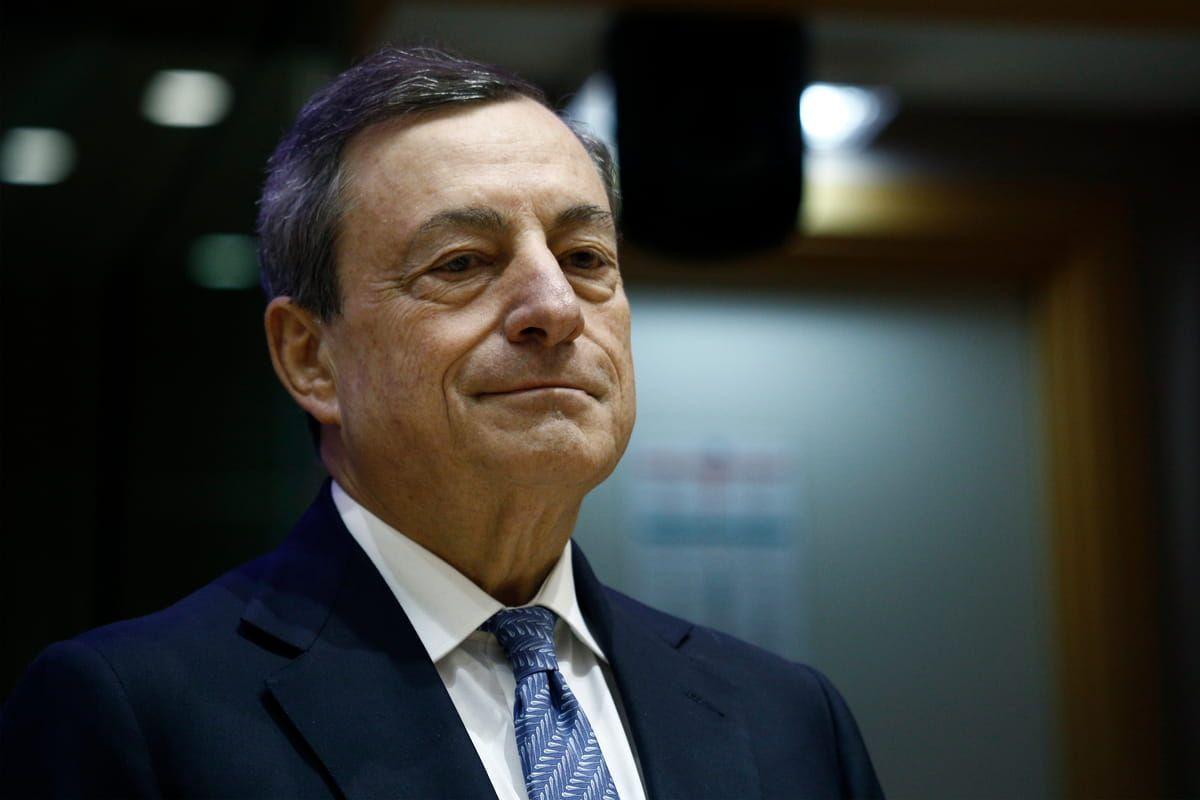 Il Presidente del Consiglio Mario Draghi soddisfatto