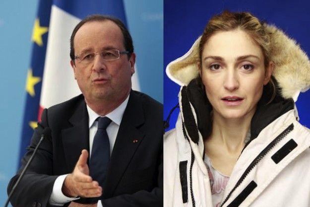 François Hollande e Julie Gayet amanti: la love story è in crisi?