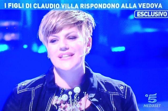 Manuela Villa attacca Patrizia Baldi a Domenica Live