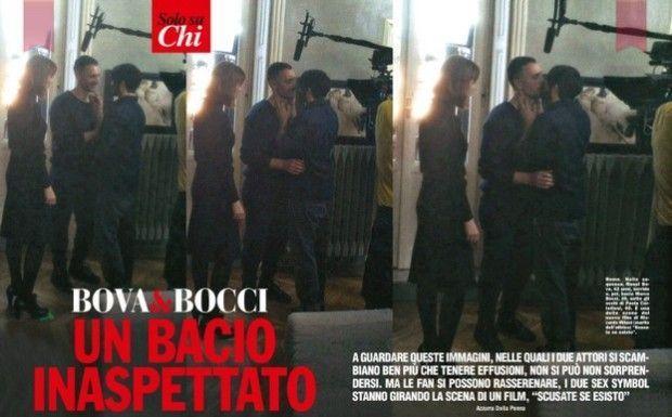 Raoul Bova e Marco Bocci: bacio gay per il loro film suscita curiosità