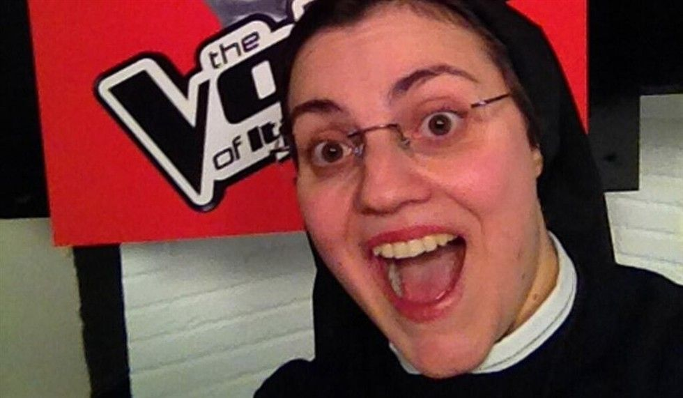 Suor Cristina di The Voice of Italy 2 ha già vinto un talent, il Good News Festival