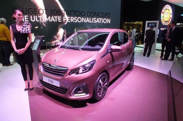 Nuova Peugeot 108 2014: scheda tecnica e motori