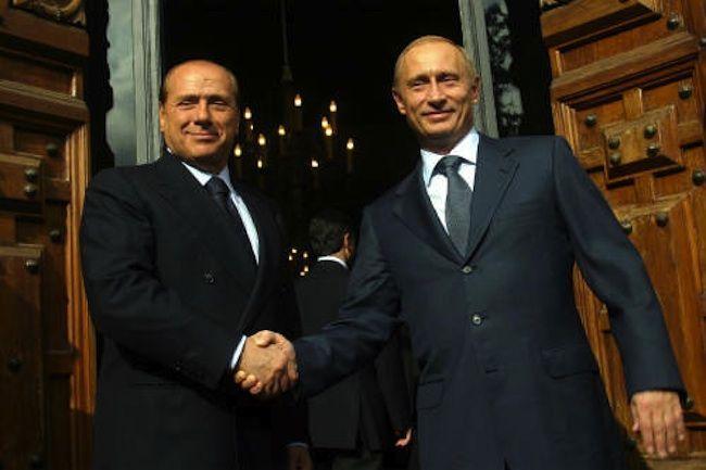 Silvio Berlusconi difende Putin