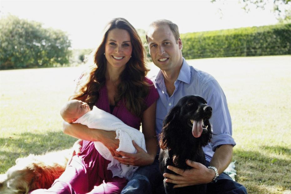 william e kate il royal baby e il cane 150x150