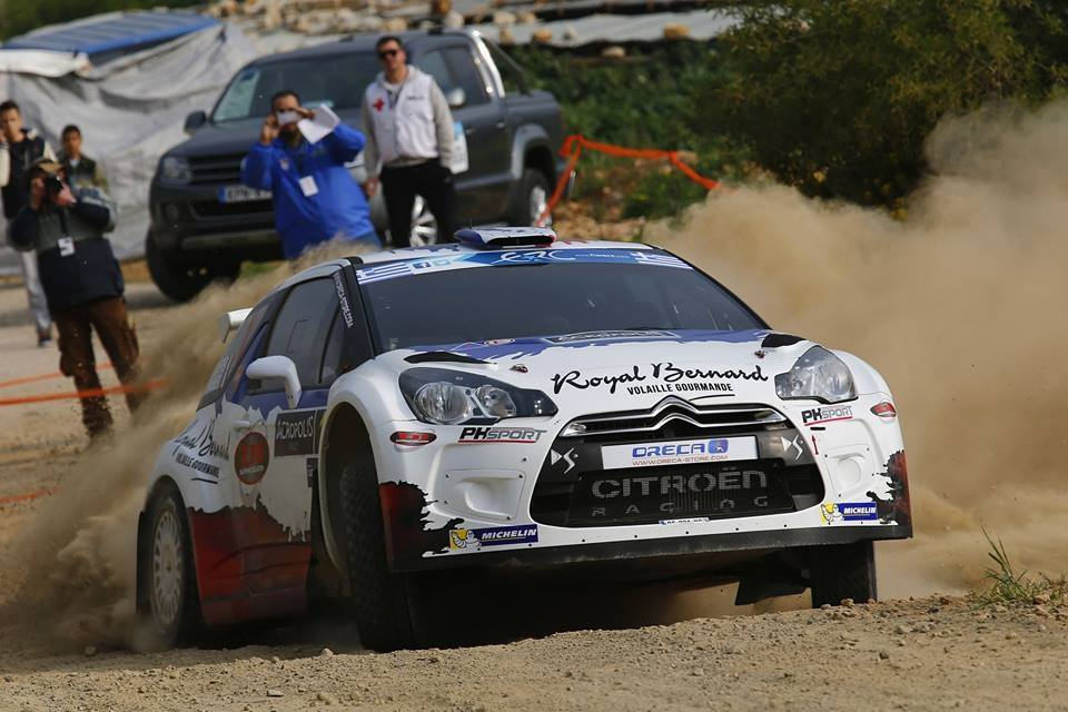 Rally Sanremo 2014: dopo 58 gare Andreucci è costretto al ritiro