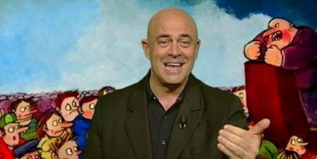 Maurizio Crozza a Ballarò