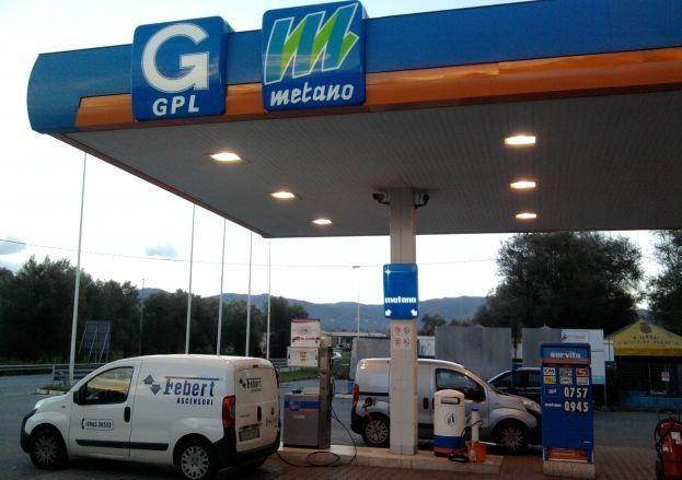 Metano in autostrada: mappa e prezzi