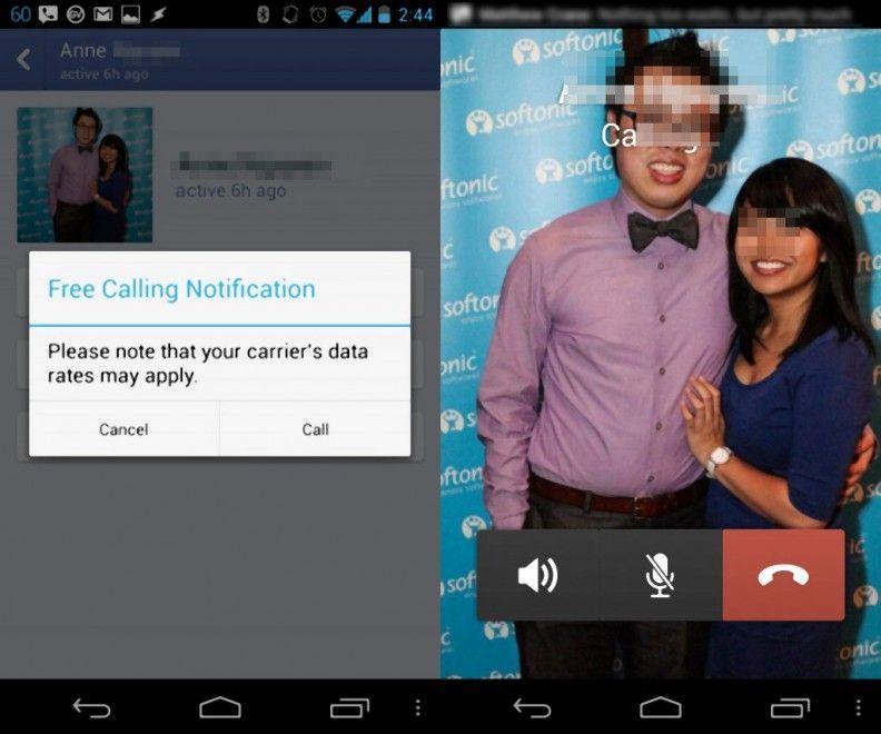 Facebook anticipa WhatsApp: chiamate gratis tra contatti