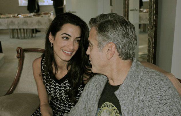 George Clooney e la fidanzata Amal Alamuddin