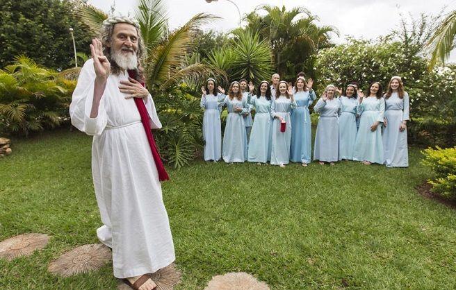 L'uomo che si crede la reincarnazione di Cristo